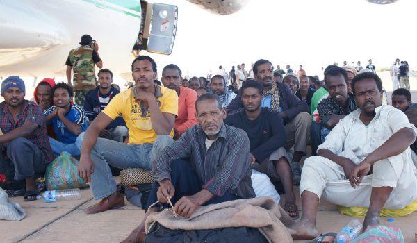 Flüchtlinge in Kufra
