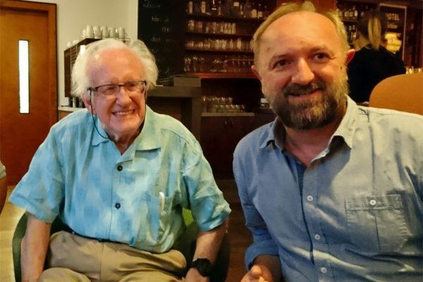 Johan Galtung und Martin Sturmer