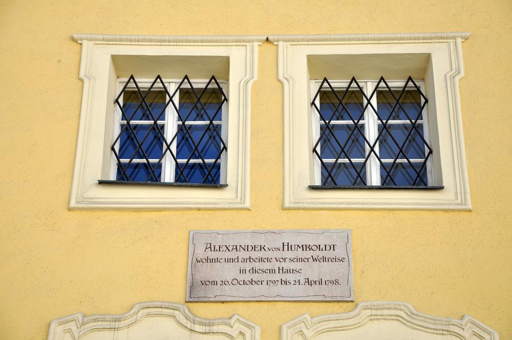 Alexander von Humboldt, Schanzlgasse 14, Kaiviertel, Salzburg