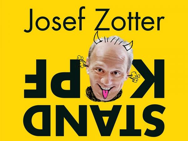 Buchcover von Josef Zotter, Kopfstand mit frischen Fischen