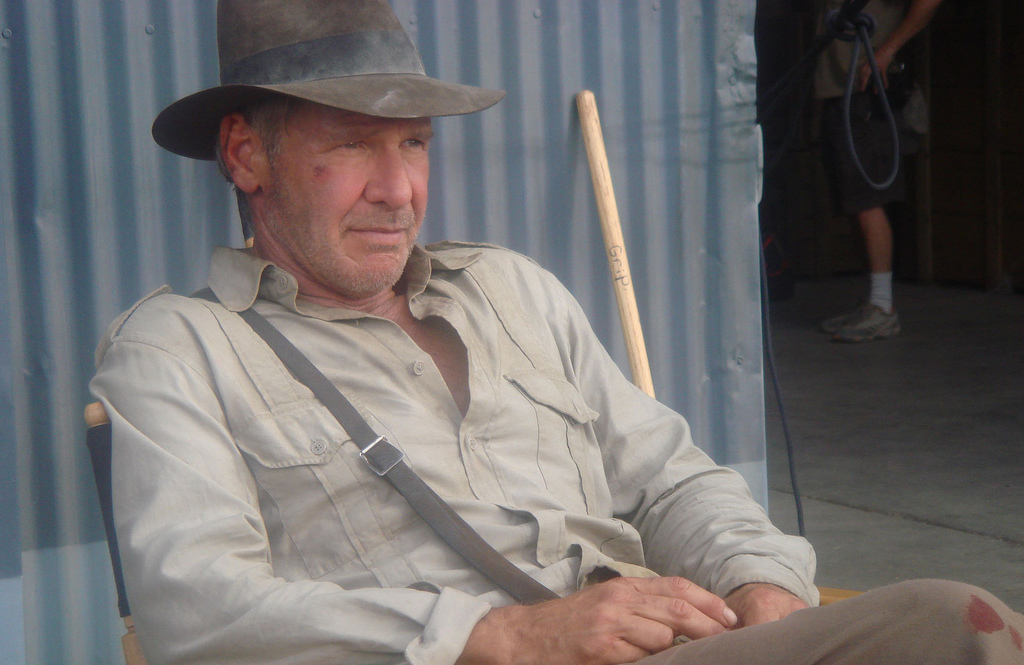 Harrison Ford - Indiana Jones 4