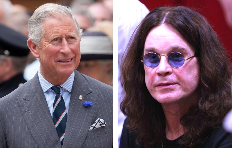 Prince Charles und Ozzy Osbourne